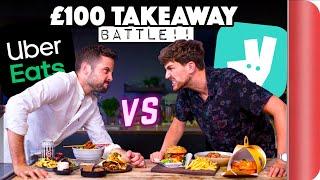 £100 UberEats and Deliveroo Takeaway Battle screenshot 1