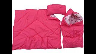 Конверт-одеяло для новорожденного.Выписка из роддома.Красивая выписка обзор.Отзывы