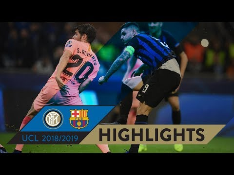 Inter 1-1 Barcelona | Highlights | Matchday 04 – Uefa Champions League 2018/19