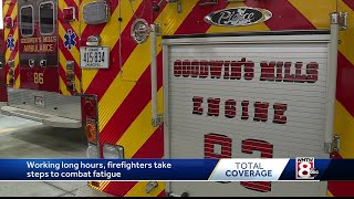 Firefighters fighting fatigue, finding new ways to hire and staff first responders