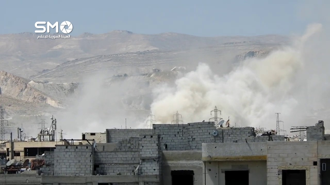 Surface-to-surface missiles hit Qabun district in Eastern Damascus