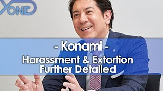 Konami's Harassment & Extortion Further Detailed #fuckonami
