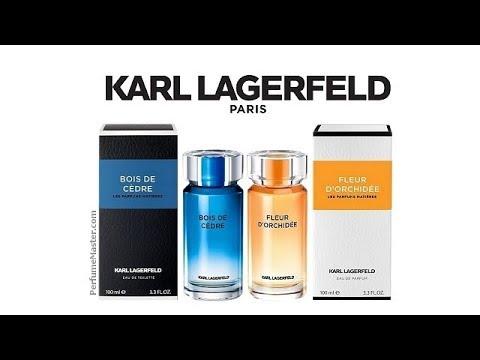 Karl Lagerfeld Les Parfums Matieres Fleur D'Orchidee Bois De Cedre