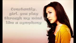 Glee Cast- Love You Like a Love Song (with lyrics)