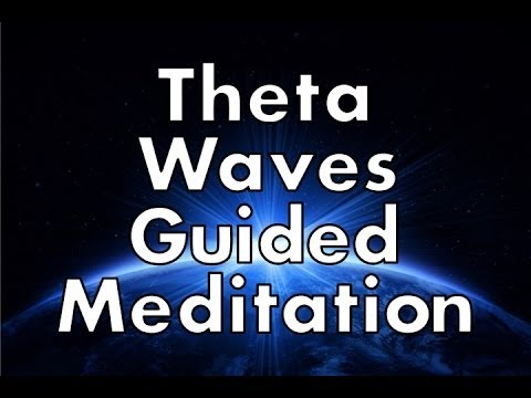 How to Enter a Theta Brain Wave State of Mind - Guided Meditation