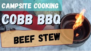 Winter Campsite Cobb Cooking: Slow Cooked Beef Stew