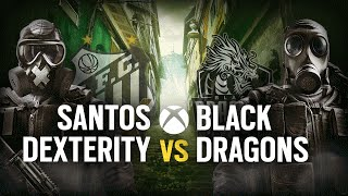[BR] SANTOS DEX vs. BLACK DRAGONS | Play Day #5 | EliteSix S03 (XBOX)