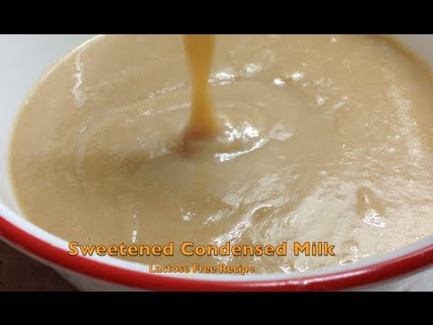 Lactose Free Sweetened Condensed Milk Stovetop Cheekyricho Tutorial