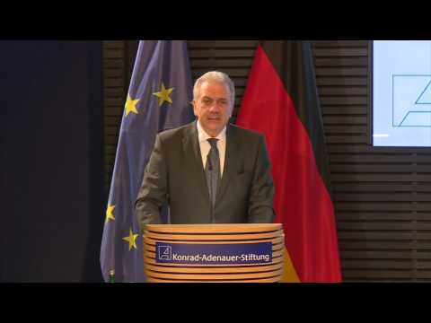 Speech by Commissioner Avramopoulos at the Konrad-Adenauer institute, Berlin 21/2/2017