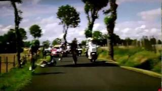 TOUR DE FRANCE!!! 2011 - RIDER GETS HIT BY CAR!!!