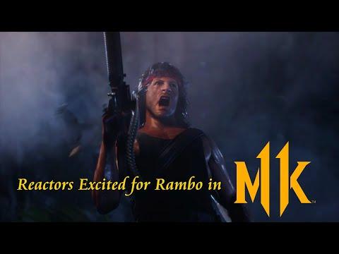 Mortal Kombat 11 Rambo Reaction Compilation