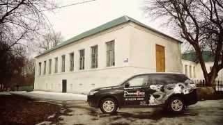 Путешествие на Mitsubishi Outlander в село Солнцево HD