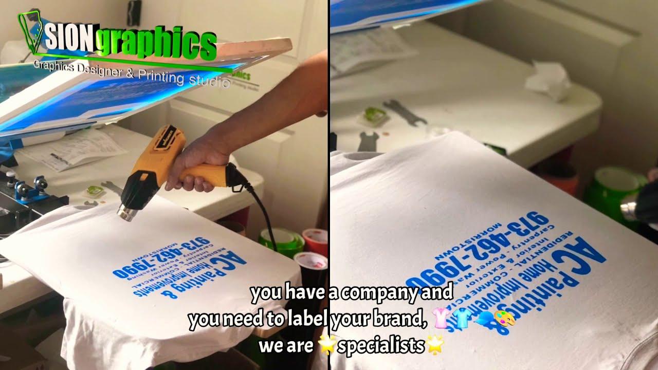 How make screen printing?