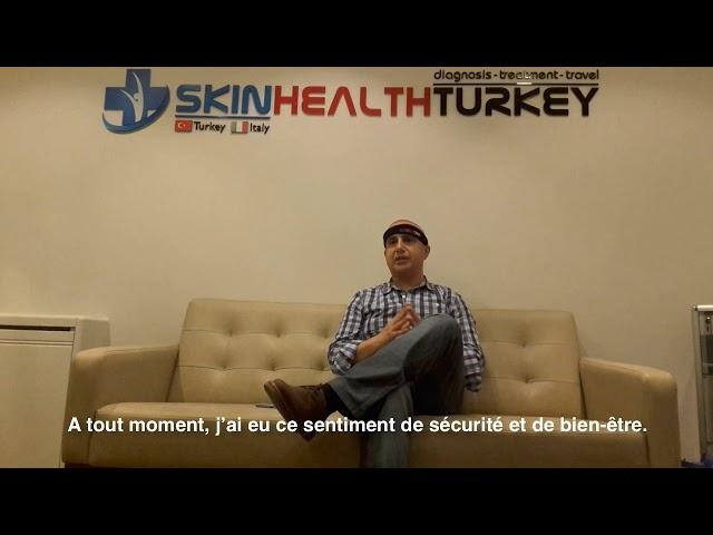 Greffe de cheveux Turquie - Témoignage de Juan F. - Dr. Oyku Celen - Skin Health Turkey