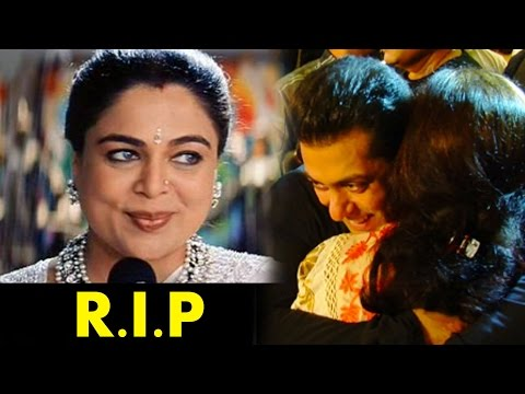 Salman's On Screen Mother Reema Lagoo DIES Of Cardiac Attack
