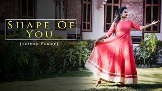 Shape of you /Indian raga /Kathak fusion /dance choreography /Apurva kushwah