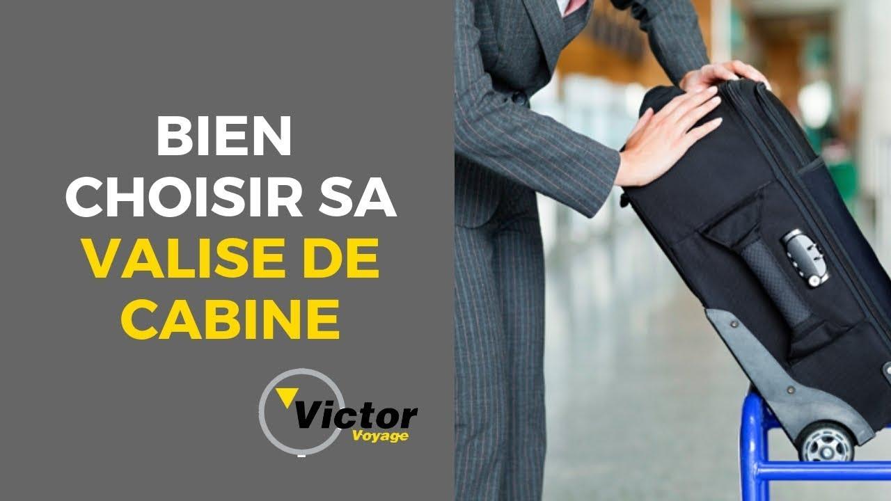 87cc85944b Conseil: Choisir la meilleure valise de cabine   Victor Voyage - YouTube