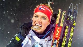 Biatlon Sprint žen 7,5 km 5.12.2015 Ostersund Švédsko