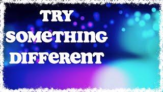 Holly Tatnall - Try Something Different (Lyric Visualizer)