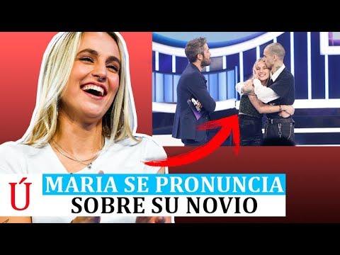 """María se pronuncia sobre el """"show"""" de su novio en la Gala 10 de Operación Triunfo 2018"""