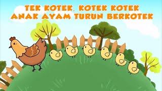Tek Kotek Kotek     Anak ayam   Lagu Anak-Anak Indonesia Terpopuler
