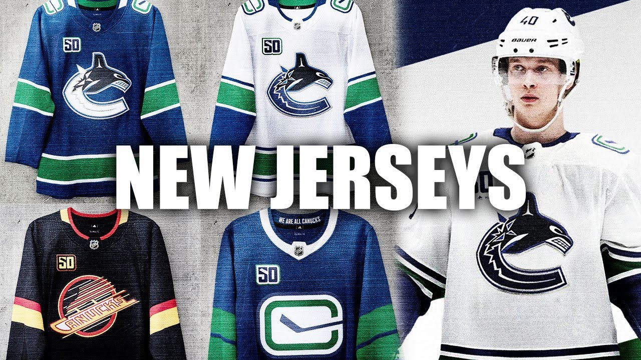 the latest 81ed5 bc444 Reviewing The New Canucks Jerseys (Vancouver Canucks New Jerseys - 50th  Anniversary) - NHL News