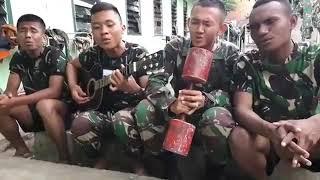 Lagu sedih bujang buntu cover TNI
