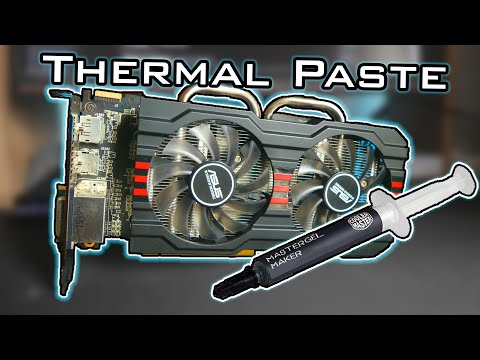 Changing Graphics Card (GPU) Thermal Paste - Is it worth it?