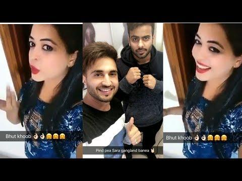 Bapu Zimidar (Female Version) | Jassi Gill Snapchat New Video 2017