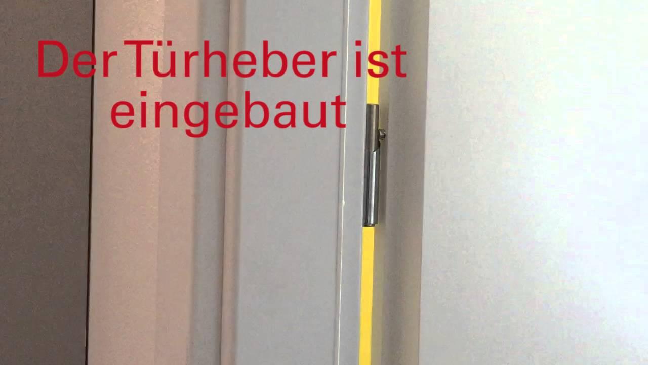 Gut gemocht Türheber easy Lift - YouTube BF74