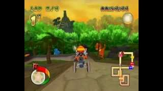 Pac-Man World Rally {PC Version} Playthrough-Part 9-Cherry Cup and Grape Cup{Hard Mode}.wmv