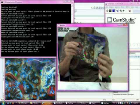 Augmented Reality Overlay 2D Image