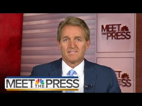 Senator Jeff Flake On Orlando, Donald Trump's Candidacy (Full Interview) | Meet The Press | NBC News