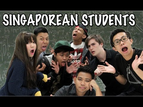 10 Types of Singaporean Students