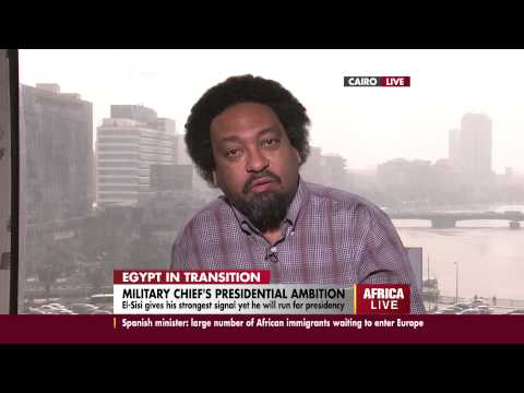 An interview with Gamal Nkrumah on Egypt army chief's presidential ambition