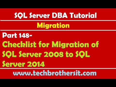Sql server dba tutorial