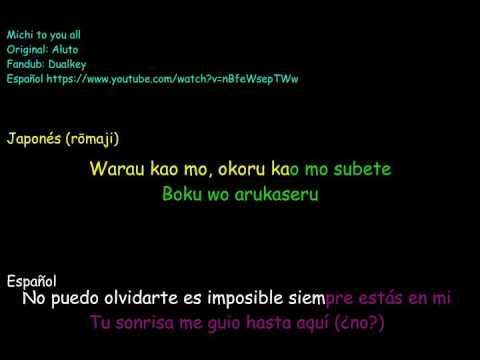 Aluto Michi to you all Karaoke Japones & Español