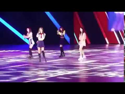 171215 BLACKPINK - 'PLAYING WITH FIRE'@Volkswagen (FANCAM)
