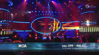 Moa Lignell - Carry You Home (Final) - Idol 2011
