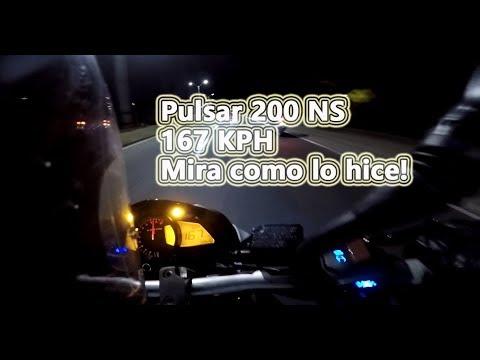 Pulsar 200 NS A 167 Kms/h Con Modificaciones Simples