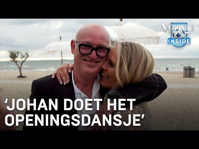 Topdag voor bruidspaar René en Minouche: 'Johan doet het openingsdansje!' | VERONICA INSIDE - Veronica Inside