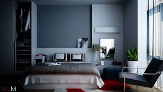Top 40 Navy Blue Bedroom Design Ideas Tour 2018 | How To Decorate Bedroom In Easy Way | Cheap DIY