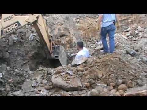 Keokuk Geode Mining