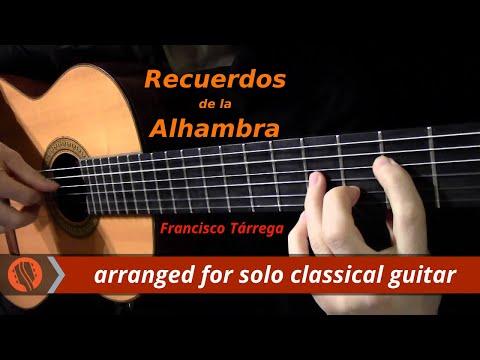 Francisco Tárrega - Recuerdos de la Alhambra (revised and performed by Emre Sabuncuoğlu)