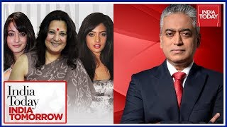 Rajdeep Sardesai In Conversation With Moon Moon, Riya And Raima Sen | India Today India Tomorrow