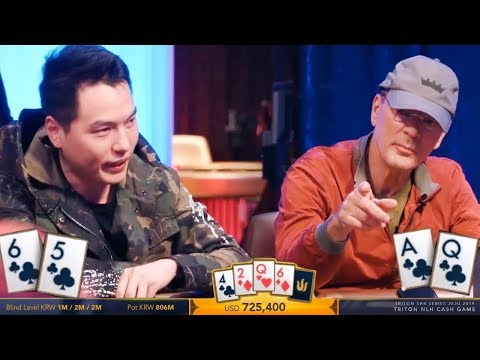 Two BILLIONAIRES Play A $725400 Game Of Poker