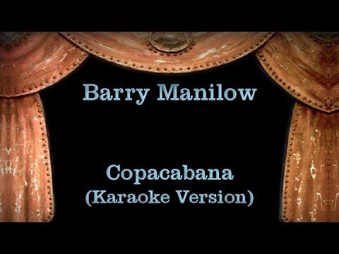 Barry Manilow - Copacabana (Karaoke Version) Lyrics