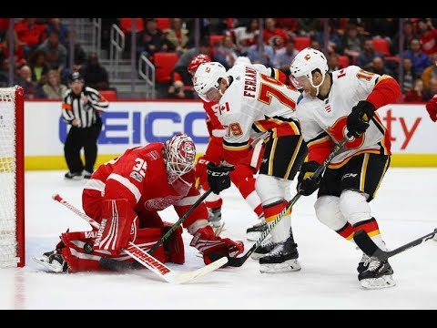 Calgary Flames vs Detroit Red Wings - November 15, 2017 | Game Highlights | NHL 2017/18