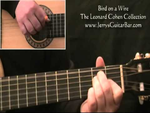 How To Play Leonard Cohen Bird on a Wire