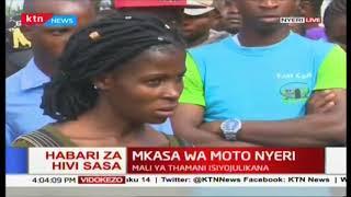 Mkasa wa moto Nyeri: Moto wazuka eneo la Ngangarithi, chanzo cha moto hakijajulikana
